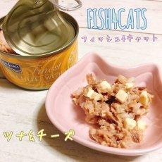 画像2: 最短賞味2023.3・フィッシュ4キャット 猫缶「ツナ&チーズ」 70g缶 全猫種 全年齢ウェット 一般食fish4cats正規品f4c29596 (2)