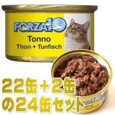 画像1: 最短賞味2021.10・フォルツァ10 猫 メンテナンス マグロ&ライス 85g×24缶 ウェット キャットフード FORZA10正規品fo05685s24 (1)