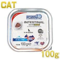 画像1: 最短賞味2021.12・フォルツァ10 猫用 インテスティナル アクティウェット 胃腸ケア 100g 成猫用 シニア猫対応・キャットフード・フォルツァディエチ・FORZA10・正規品 (1)