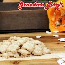 画像2: 最短賞味2020.12・グランマ・ルーシーズ オーガニックドッグトリーツ パンプキン 397g オーブンベイクド 有機原材料 Grandma Lucy's 正規品gl20069 (2)