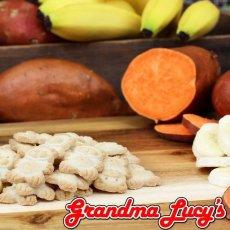 画像2: 最短賞味2020.12・グランマ・ルーシーズ オーガニックドッグトリーツ バナナ&スイートポテト 397g オーブンベイクド 有機原材料 Grandma Lucy's 正規品gl20113 (2)