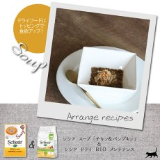 画像2: SALE/最短賞味2022.3・シシア 猫 スープ(チキン&パンプキン)85g scc676パウチ 成猫用ウェット 一般食 キャットフード Schesir 正規品 (2)