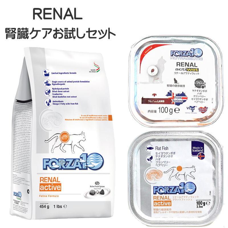 画像1: 最短賞味2022.1・フォルツァ10 猫 リナール 腎臓ケアセット FORZA10 正規品fo07924s(fo07924 foc07573 fo12270) (1)