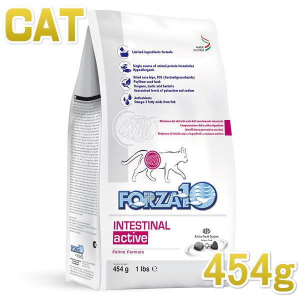 画像1: 最短賞味2021.12・フォルツァ10 猫 インテスティナル アクティブ胃腸ケア454g 猫用療法食キャットフードFORZA10正規品fo07887 (1)