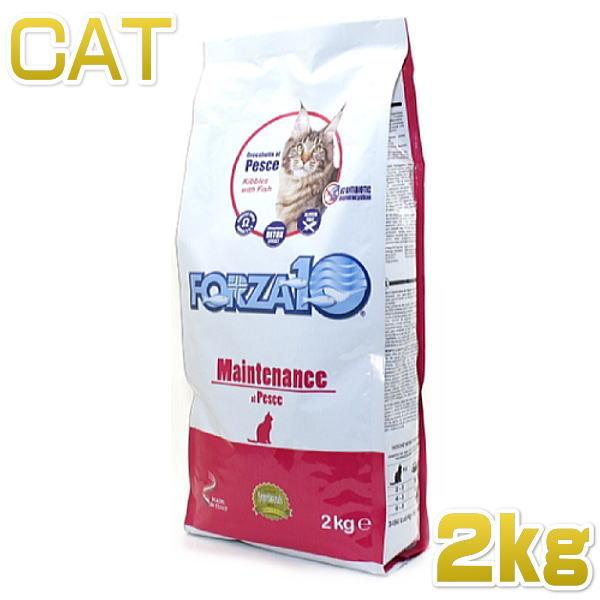画像1: 最短賞味2020.6・フォルツァ10 猫用 メンテナンス フィッシュ ローグレイン 2kg 成猫用シニア猫にもお勧め ドライ FORZA10 正規品 (1)