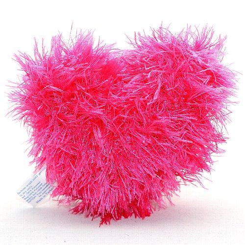 画像1: オーマ・ロー 歯磨きおもちゃ・ハート・ピンク【犬用おもちゃ・トルコ産】 (1)