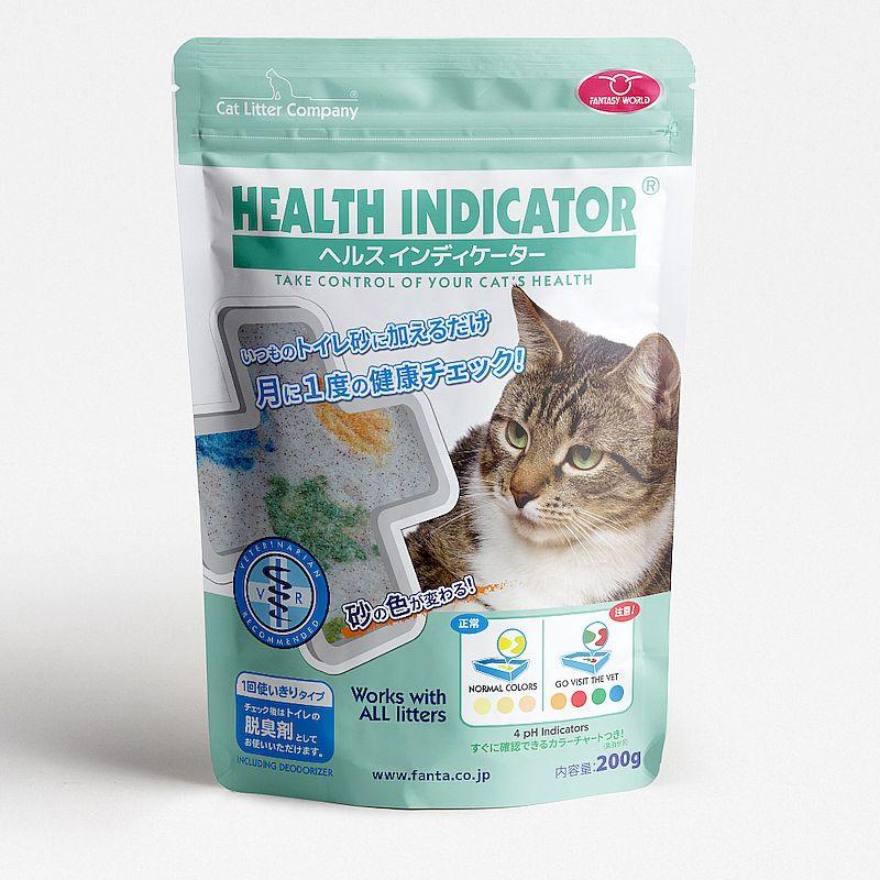 画像1: ヘルスインディケーター 200g 月に1度、愛猫の健康チェック! (1)