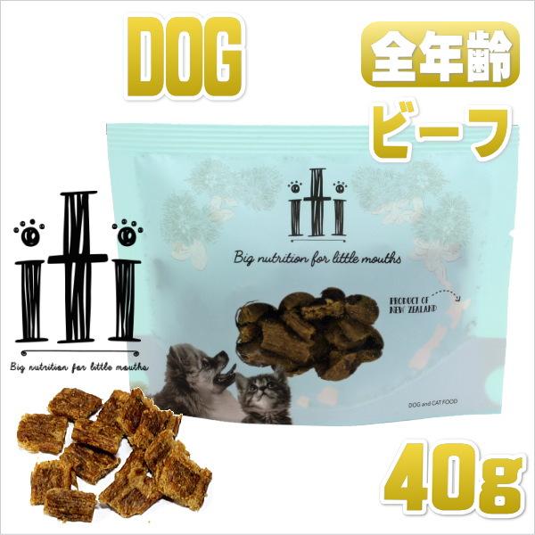 画像1: 最短賞味2020.7.22・イティ・iti 犬用 ドッグ ビーフ ディナー 40g有料サンプル・全年齢対応 ドッグフード 穀物不使用 iti 正規輸入品 (1)