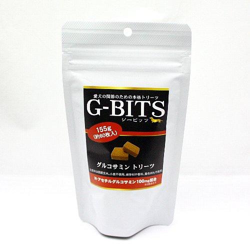 画像1: 最短賞味2020.8・G-BITS ジービッツ・グルコサミントリーツ 155g(約60枚入り) 犬用おやつ・関節ケア (1)