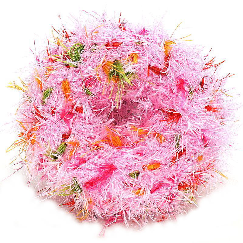 画像1: オーマ・ロー 歯磨きおもちゃ・ドーナツ・ピンク 犬用おもちゃ・トルコ産・Oo Ma Loo t12274 (1)