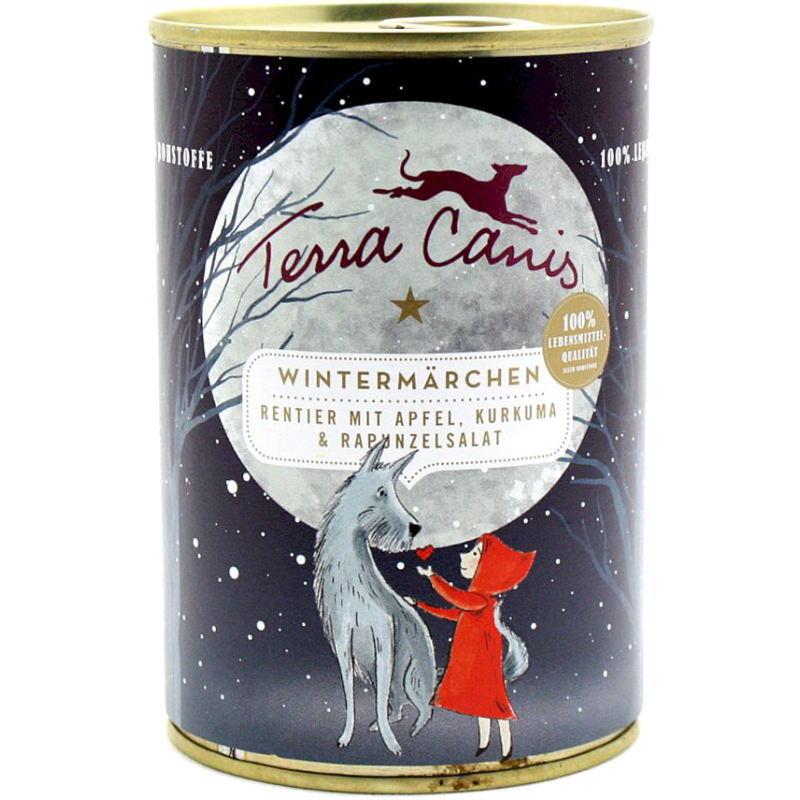 画像1: 最短賞味2023.10・テラカニス ウィンターストーリー 400g缶トナカイとリンゴ ターメリックとラプンツェルサラダtc30225 (1)