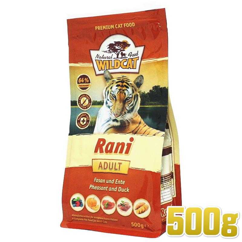 画像1: 最短賞味2022.7.1・ワイルドキャット ラニ 500g 成猫用ドライ 穀物不使用 グレインフリー キャットフード WILDCAT 正規品 wc67004 (1)