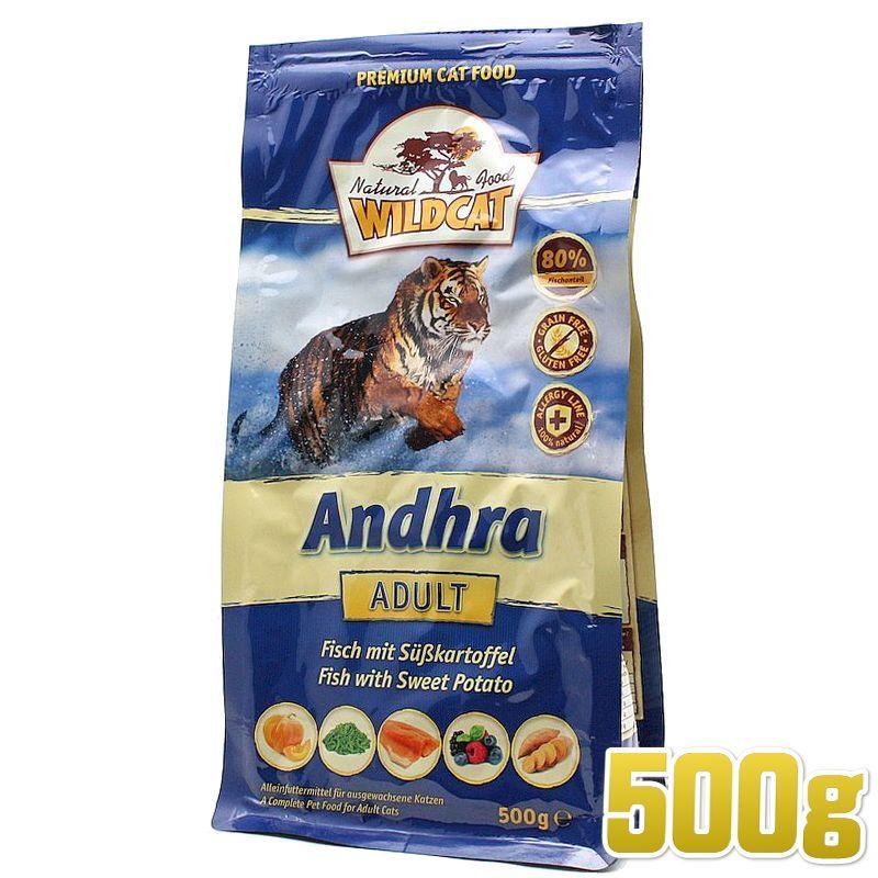 画像1: 最短賞味2020.7.12・ワイルドキャット アンドラ 500g 成猫用ドライ 穀物不使用 グレインフリー キャットフード WILDCAT 正規品 wc68001 (1)