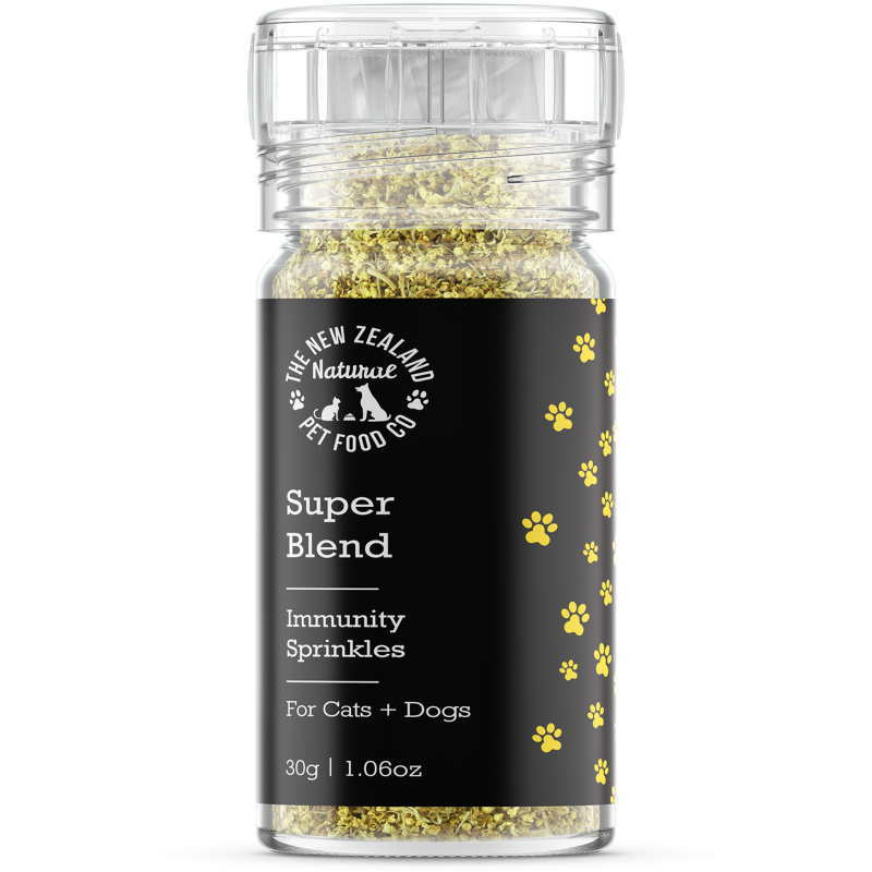 画像1: NEW 最短賞味2021.6・Super Blends イミュニティ スプリンクルズ 30g犬猫用栄養補助食wo44373 (1)